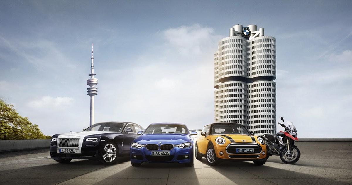 BMW Group - Alle Marken