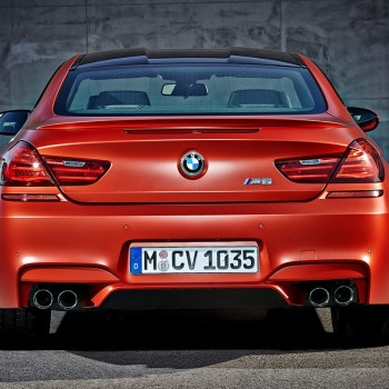 BMW M6 Coupé - Facelift - 2015 - Back