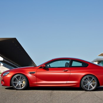 BMW M6 Coupé - Facelift - 2015 - Sideview