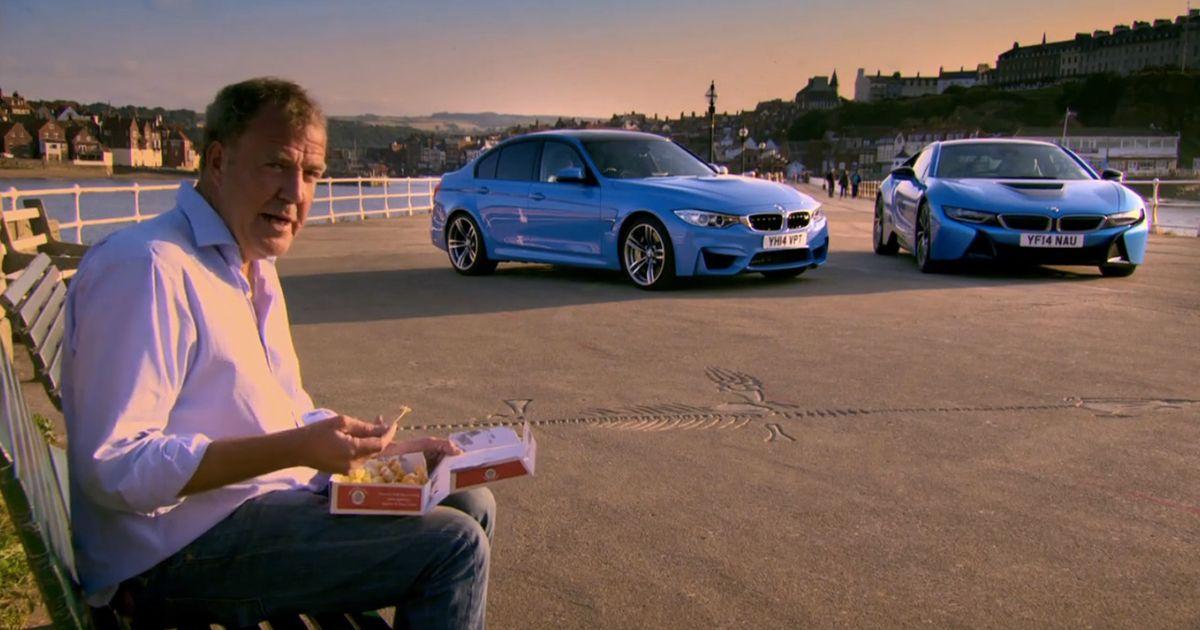 Topgear S Jeremy Clarkson Bmw M3 Vs Bmw I8