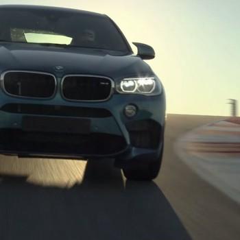 BMW X6M auf der Rennstrecke