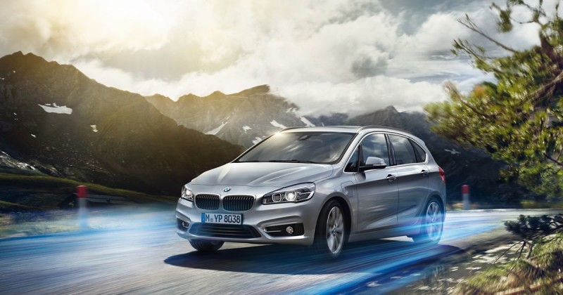 World Premiere: BMW 225xe Active Tourer Plug-in Hybrid debuts at Frankfurt Motor Show IAA