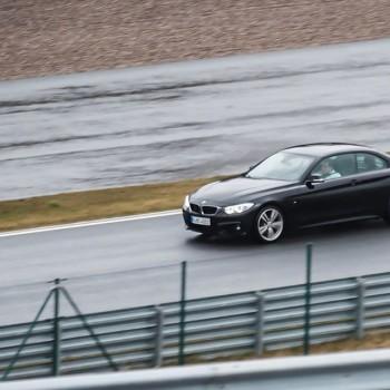 BMW 420d Cabrio auf dem Bilster Berg
