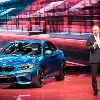 BMW at NAIAS Detroit 2016 - Press Conference