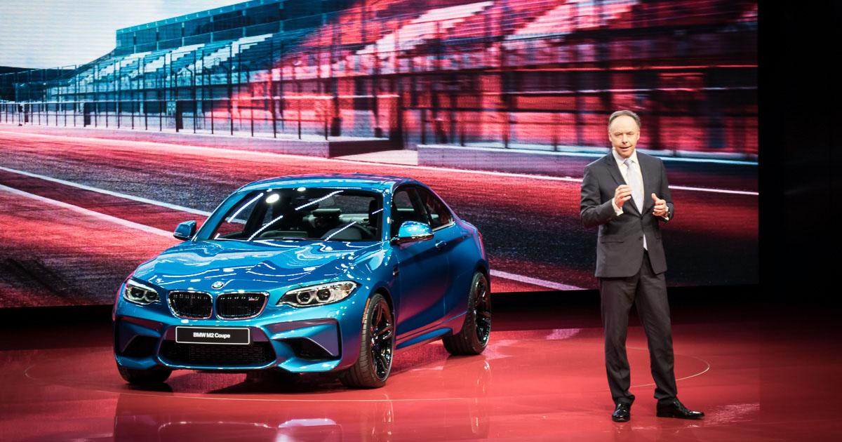 BMW at NAIAS Detroit 2016 - Press Conference