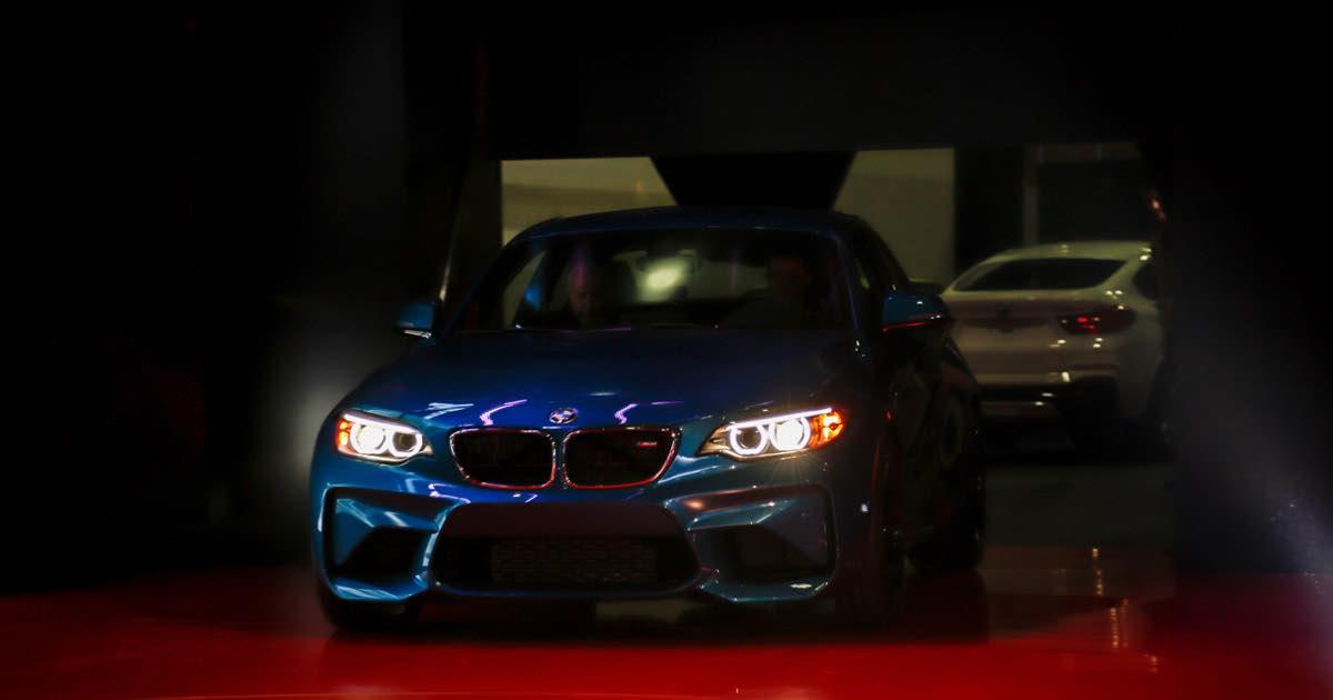 BMW in Detroit - Exklusiv: Erste Bilder vorab live aus Detroit