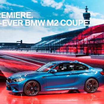 BMW M2 - Weltpremiere des Coupés im Video