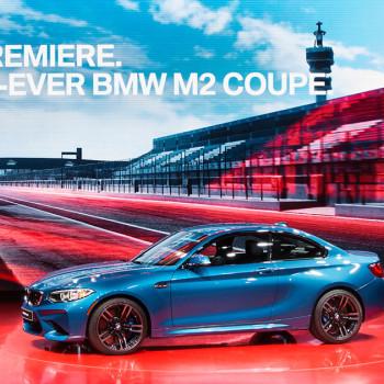 BMW M2 - Weltpremiere des Coupés im Video