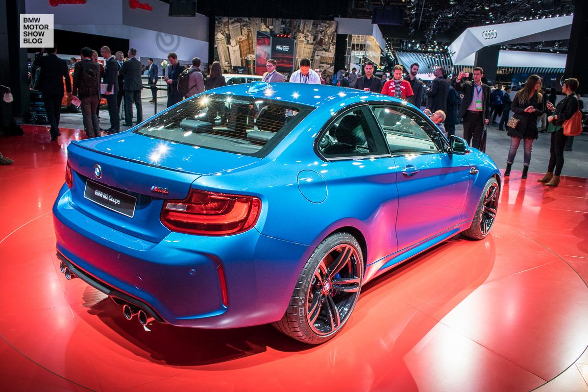 Weltpremiere: Das BMW M2 Coupé live auf der NAIAS Detroit 2016 - Heckansicht
