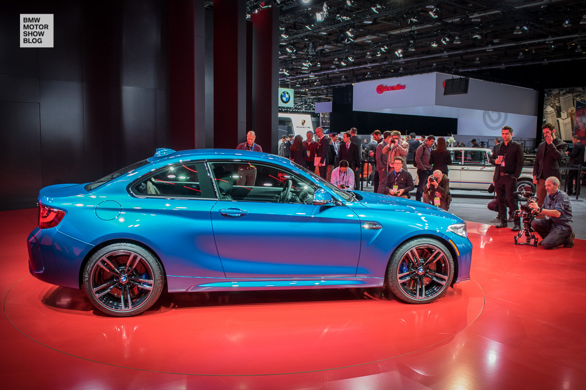 Weltpremiere: Das BMW M2 Coupé live auf der NAIAS Detroit 2016 - Seitenansicht