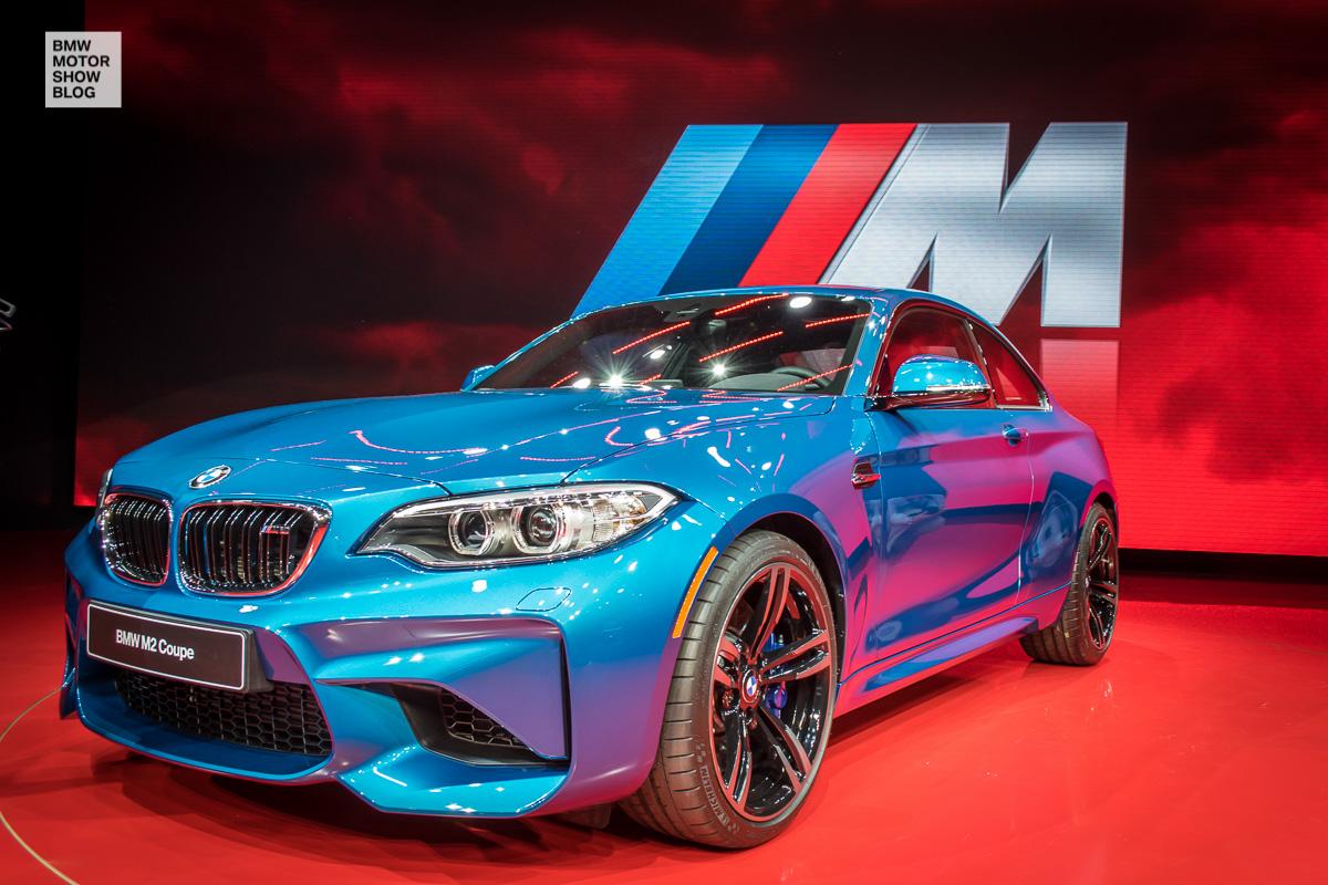 Weltpremiere: Das BMW M2 Coupé live auf der NAIAS Detroit 2016 -