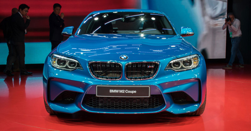 First photos of the BMW M2 live from NAIAS, Detroit 2016!