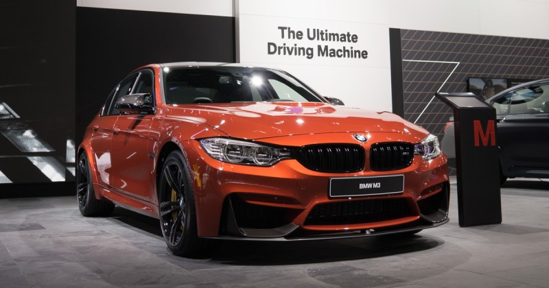 Firestarter: The BMW M3 in Sakhir Orange at 2016 NAIAS, Detroit