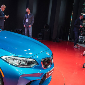 BMW auf der Detroit Motor Show NAIAS 2016 - Best of Instagram - BMW M2