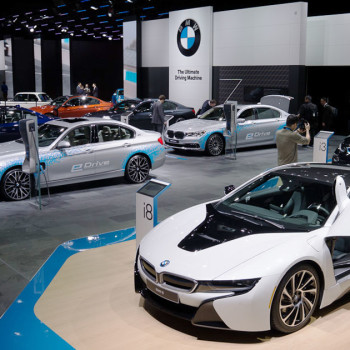 BMW at the NAIAS, Detroit 2016