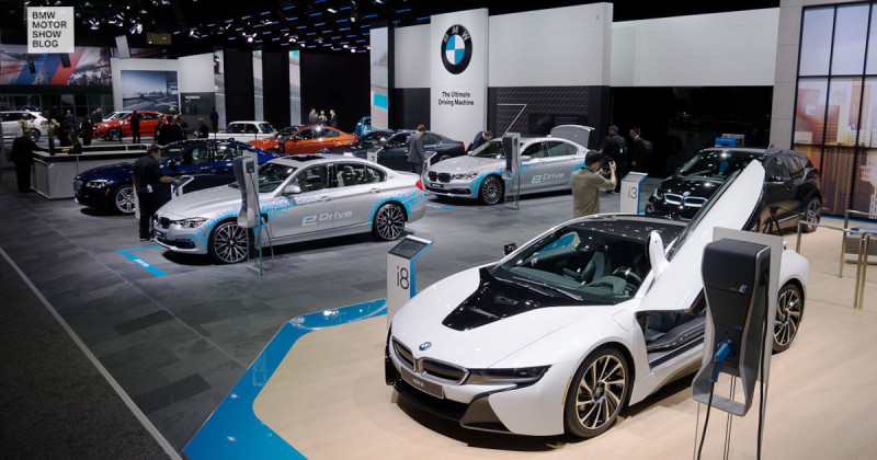 BMW at the 2016 NAIAS, Detroit – Live at the stand!