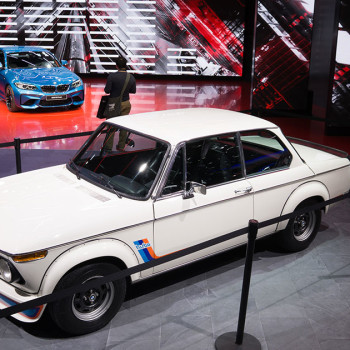 BMW at 2016 NAIAS, Detroit - BMW 2002 turbo and BMW M2