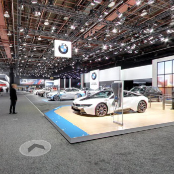 BMW at the 2016 NAIAS, Detroit - Google Street View