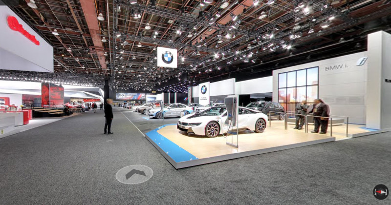 Join BMW at the NAIAS in Detroit – with Google Street View!