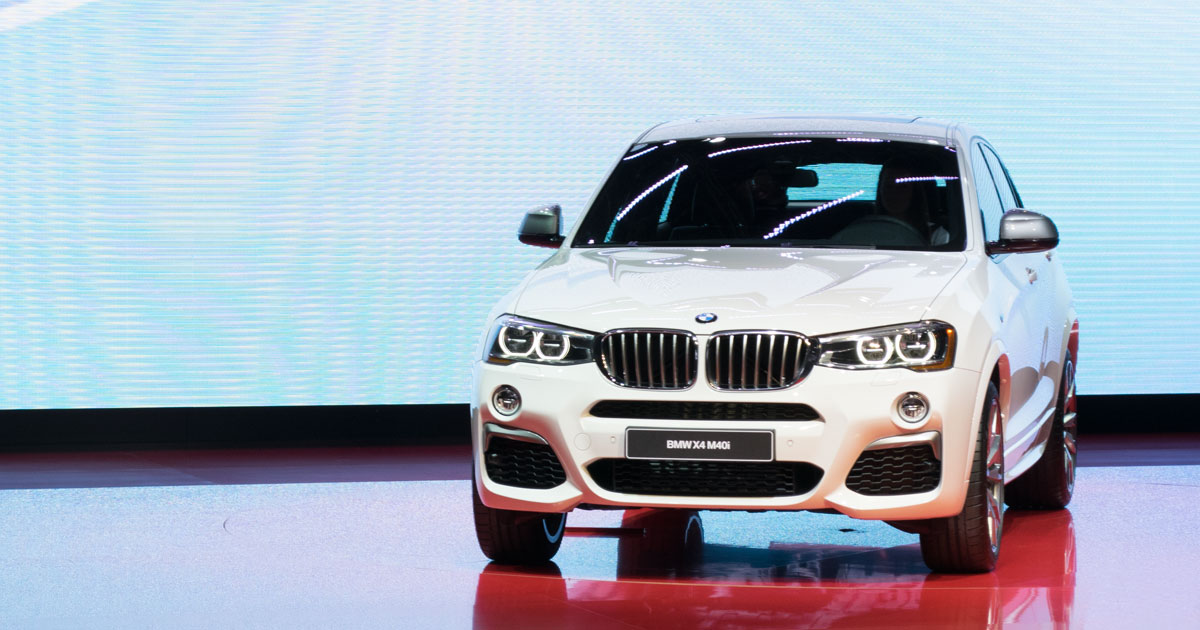 BMW X4 M40i - world debut at NAIAS