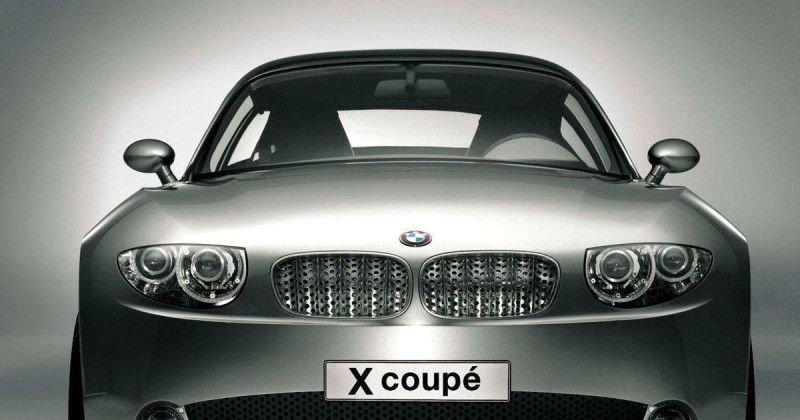 Why the BMW X Coupé Concept from 2001 was a groundbreaking car at NAIAS Detroit