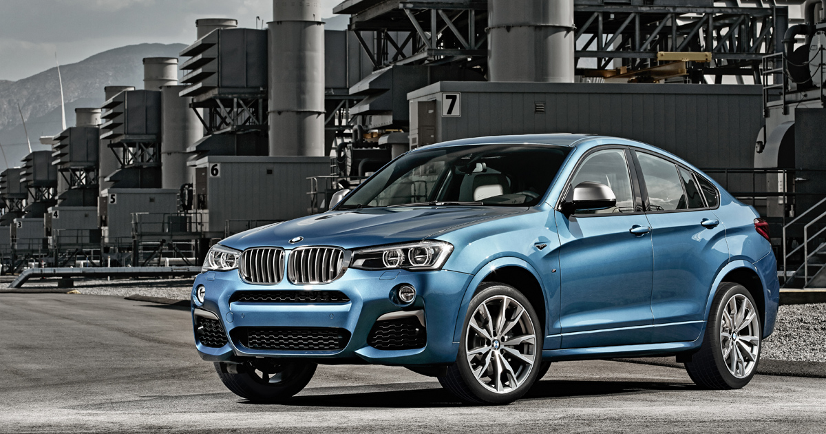 BMW X4 M40i debuts at NAIAS 2016