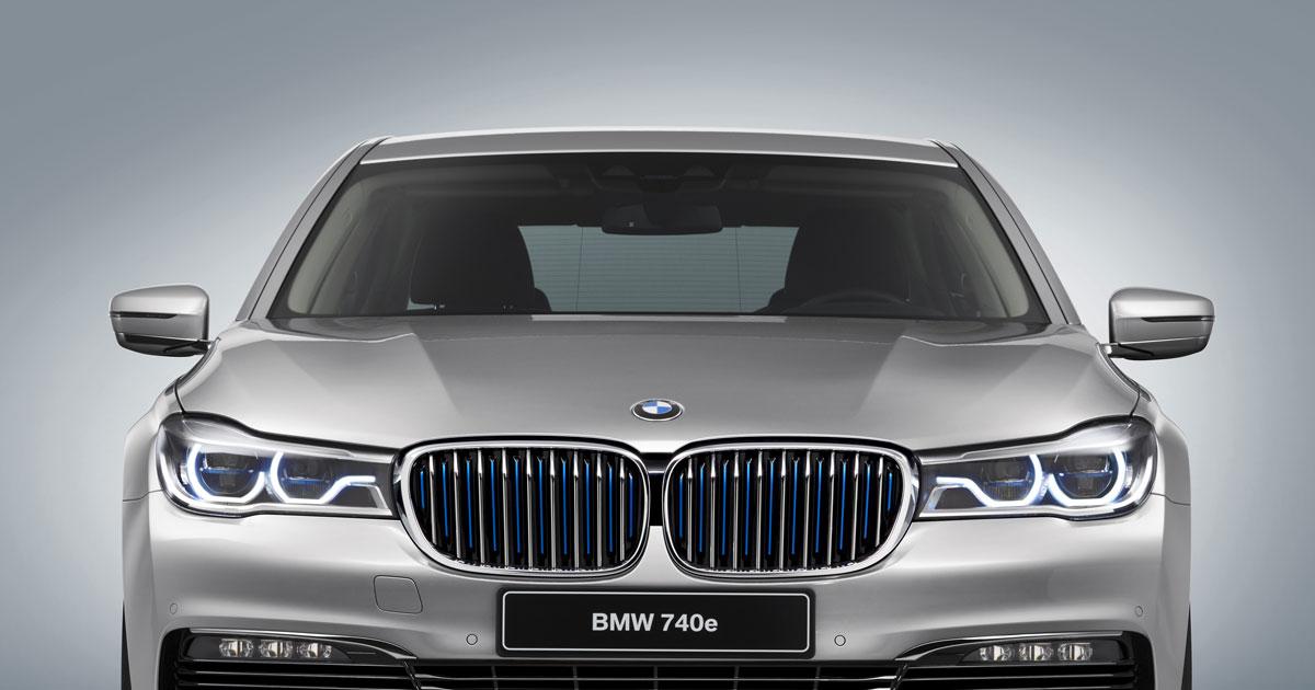 BMW 740e iPerformance (G11) - Debut at 2016 Geneva Motor Show