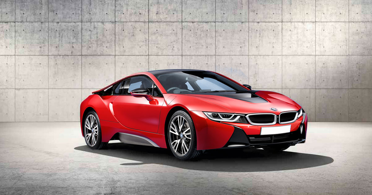 World Premiere Exclusive Bmw I8 Protonic Red Edition