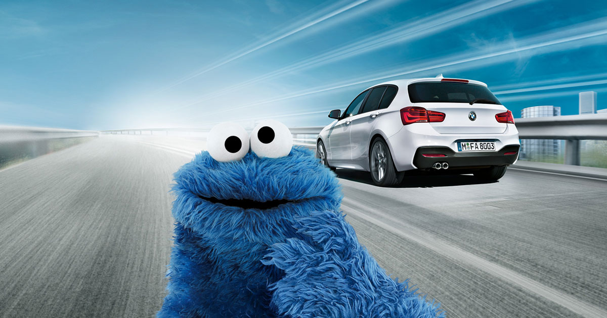 BMW 1 Series Commercial: Cookie Monster