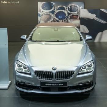 BMW 2015er 6er Cabrio - Genf Auto Salon 2016