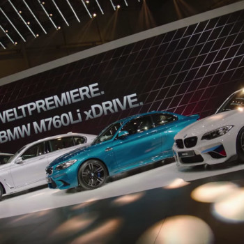 BMW auf dem Auto Salon Genf - Video