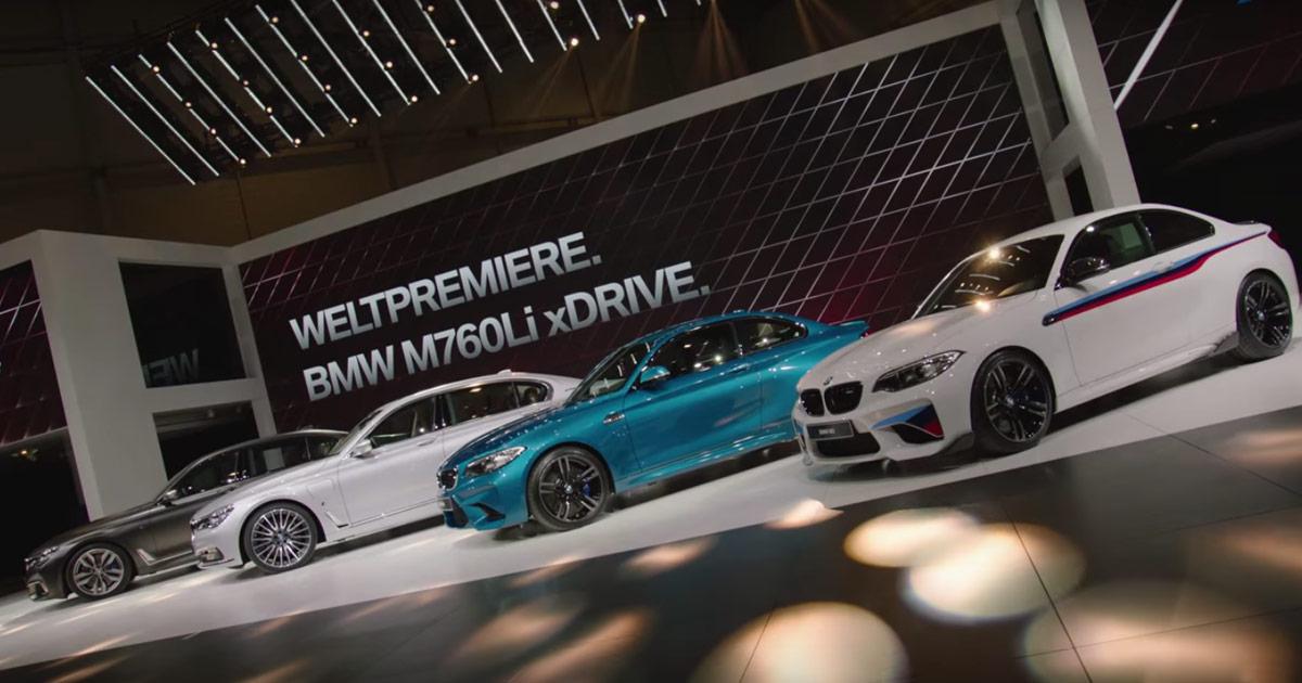 BMW auf dem Auto Salon Genf - Video