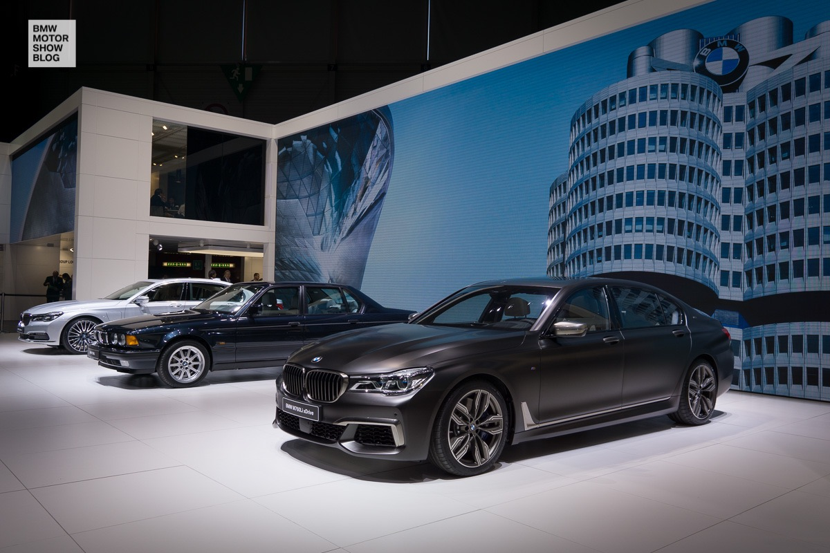 BMW at the 86th Geneva International Motor Show 2016 - Day 1 - BMW 7 Series