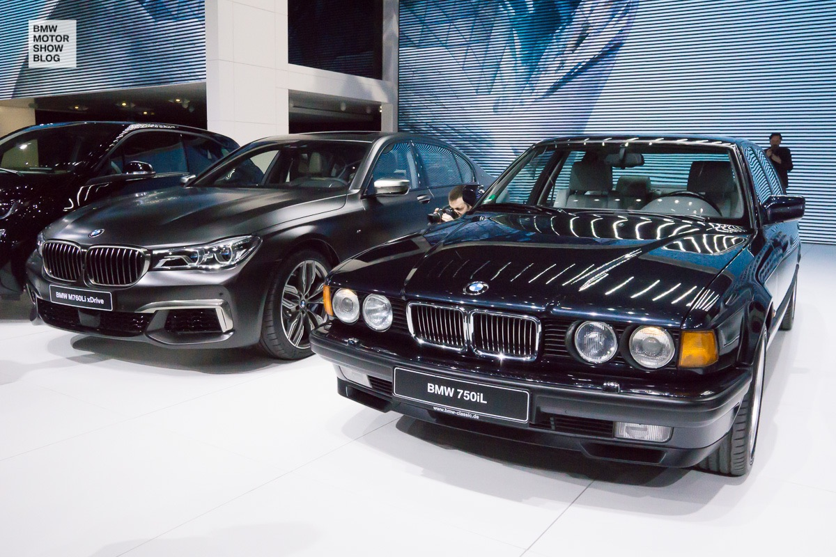 BMW at the 86th Geneva International Motor Show 2016 - Day 1 - BMW 7 Series
