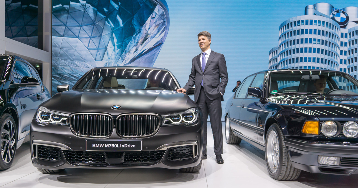 BMW CEO Harald Krüger