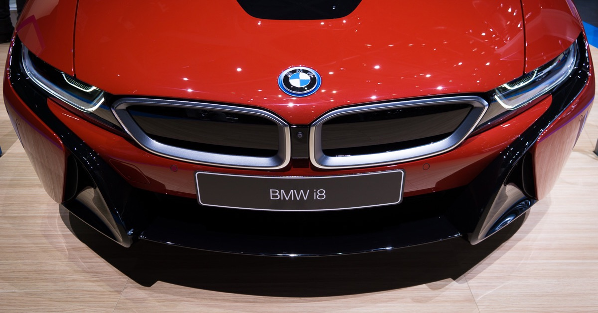 Bmw I8 Protonic Red Edition World Debut At Geneva Motor Show