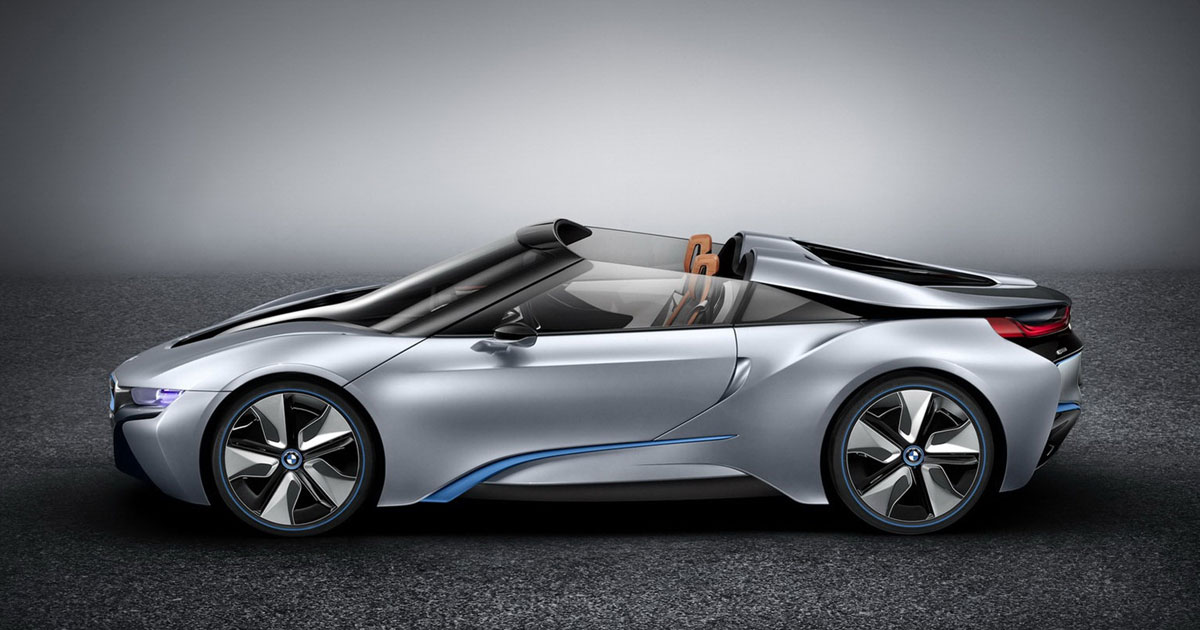 BMW i8 Spyder is coming - Roadster starts in 2018