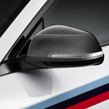 BMW M2 with M Performance Parts - Detail: Mirror Caps