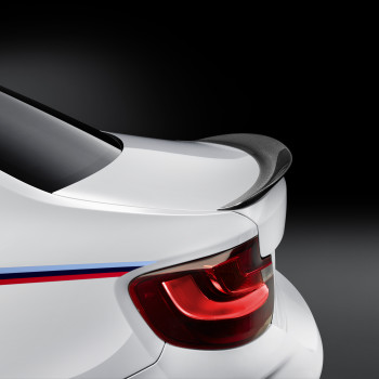 BMW M2 with M Performance Parts - Detail: Spoiler