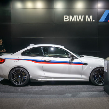 debut in geneva the bmw m2 with m performance parts