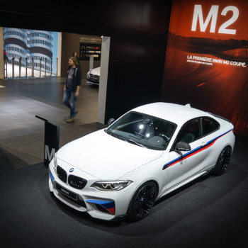 BMW M2 with M Performance Parts - Debut at Geneva Motor Show 2016