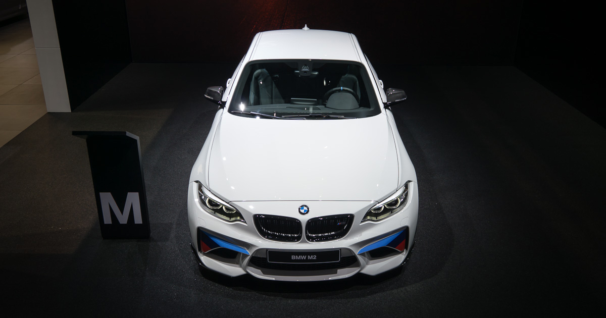 BMW M2 Coupé with M Performance Parts debuts at Geneva Motor Show