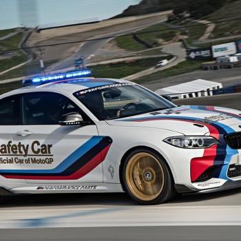 BMW M2 MotoGP Safety Car - Laguna Seca
