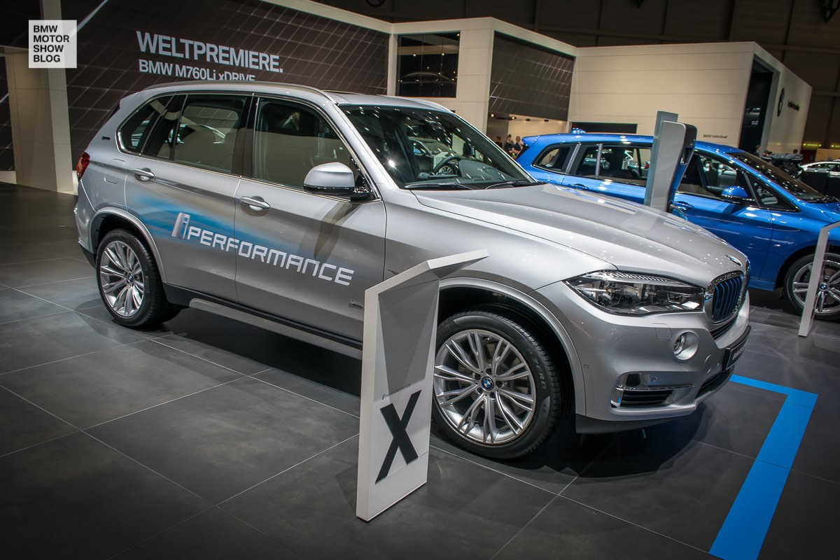 bmw x5 xdrive40e iperformance at geneva motor show 2016. Black Bedroom Furniture Sets. Home Design Ideas