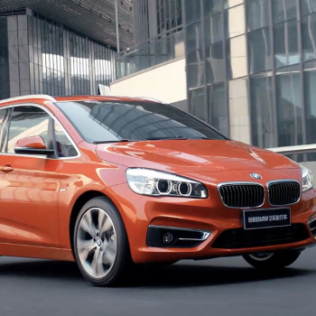 BMW 2 Series Active Tourer (F45) - Valencia Orange in China