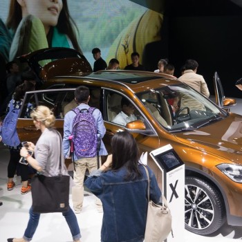 BMW at the Auto China in Beijing - First Live-Pictures