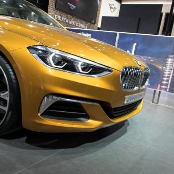 BMW Concept Compact Sedan - Beijing / Peking - 2016 - Detail der Front