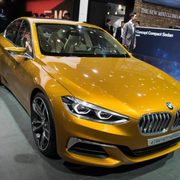 BMW Concept Compact Sedan - Beijing / Peking - 2016 - Front