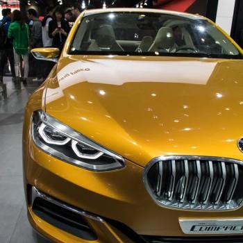 BMW Concept Compact Sedan - Beijing / Peking - 2016 - Frontscheinwerfer