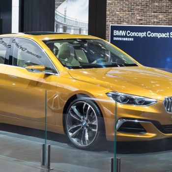 BMW Concept Compact Sedan - Beijing / Peking - 2016